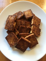 Tangy Baked Tofu on PhD Kitchen!