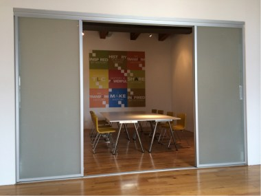 Conference room in the new Chicago office