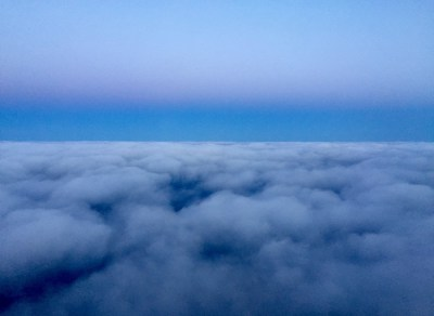 The view from my office window, 30,000 feet up.