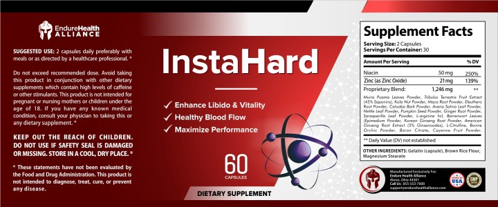 InstaHard dosage