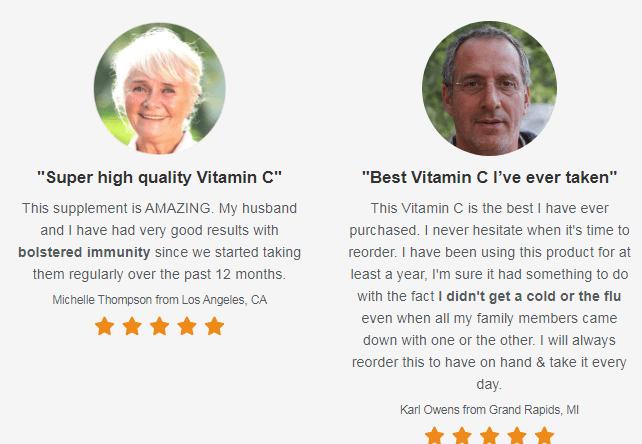 Vitamin C Boost reviews