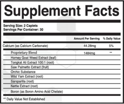 Granite Male Enhancement Pills Ingredients