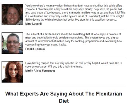 Flexitarian Blueprint for weight loss