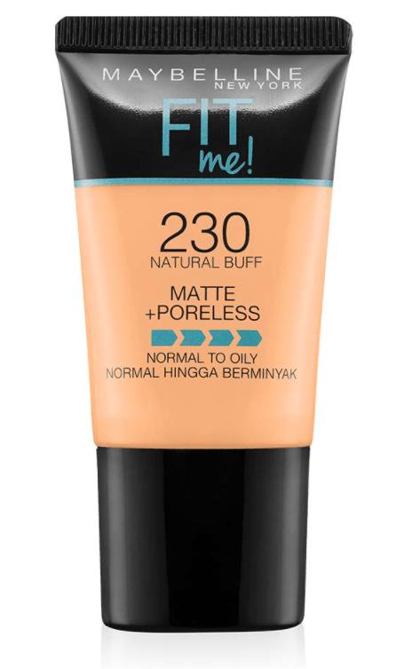 Maybelline New York Fit Me Matte+ Poreless Liquid Foundation