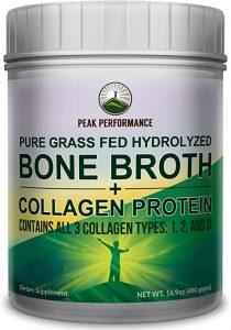 Peak Performance Bone Broth + Collagen Protein