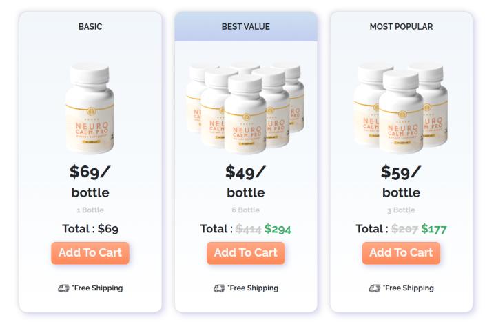 Neuro Calm Pro price