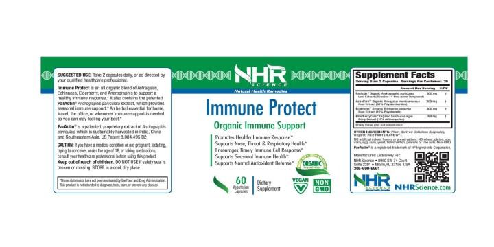 Immune Protect dosage