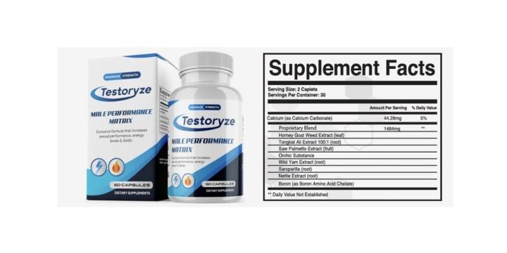 Testoryze Dosage