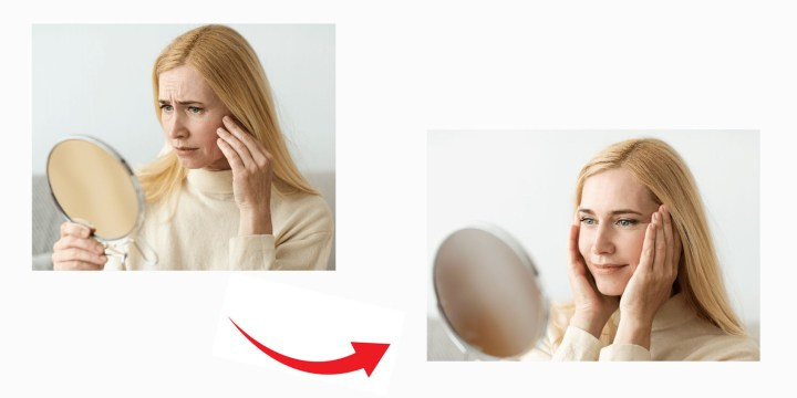Lumiace Eye Cream Transformation
