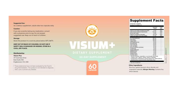 Visium Plus Capsules Dosage