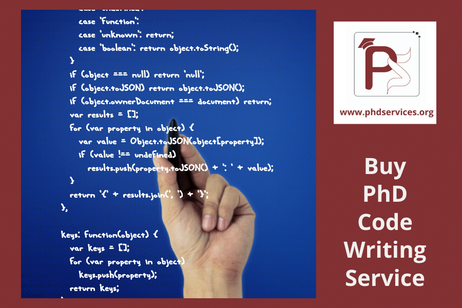 Buy PhD code writing service from expert panel team