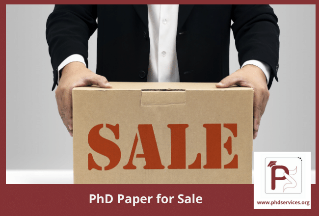 PhD paper for sale at cheap price