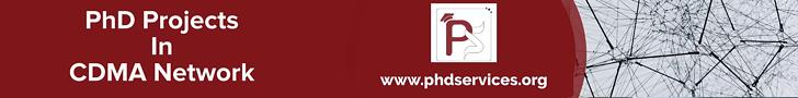 PhD Projects in CDMA Network