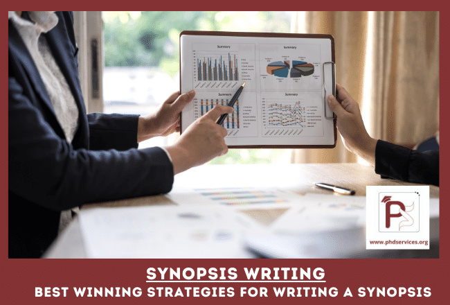 Optimistic action and outline of summary for Synopsis writing