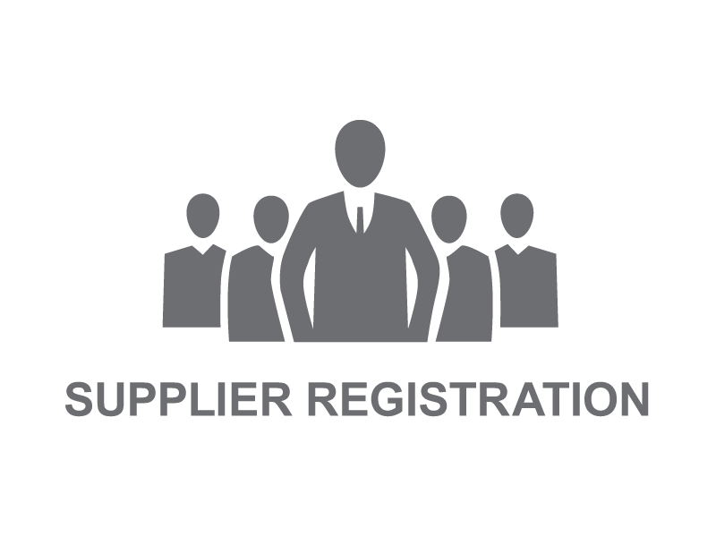 Registration of Suppliers – 2018