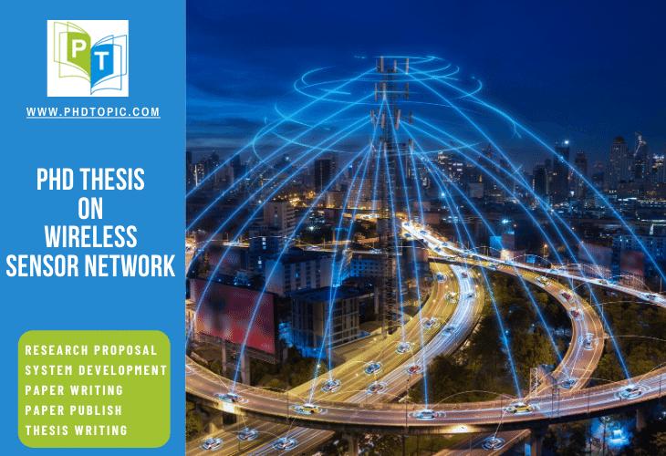 PhD Thesis on Wireless Sensor Network Online