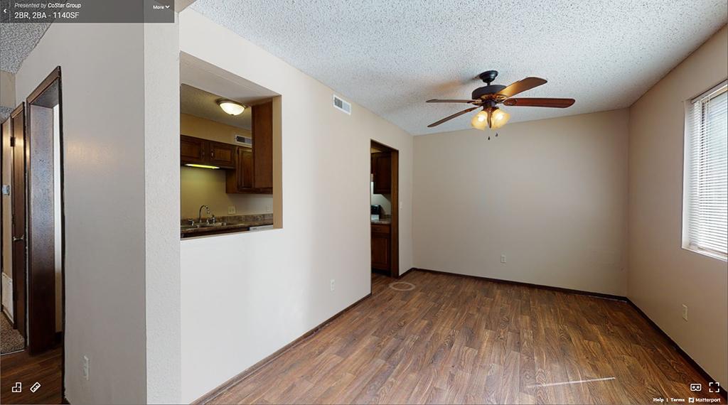 Pheasant Run 2 Bedroom Apartment 3D Tour