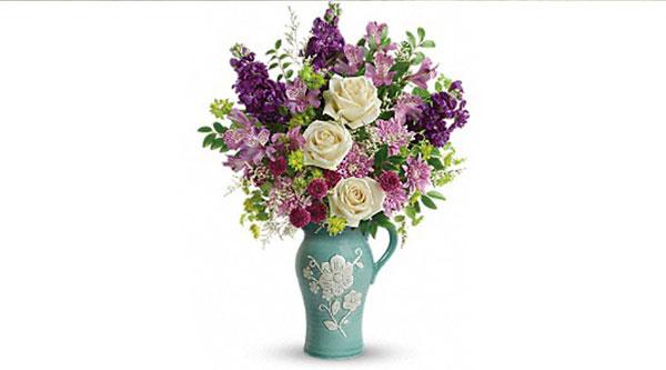Teleflora's Artisanal Beauty Bouquet Banquet Donation