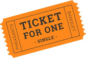 Single Banquet Ticket