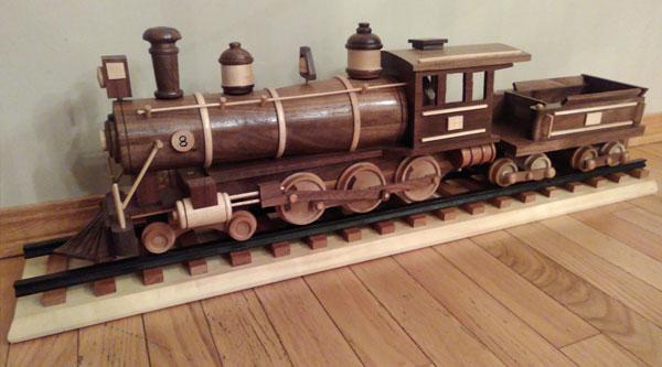 Handmade Wooden Train Banquet Donation