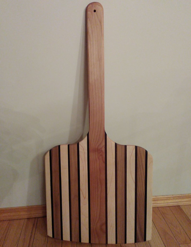 Wooden Pizza Paddle Banquet Donation
