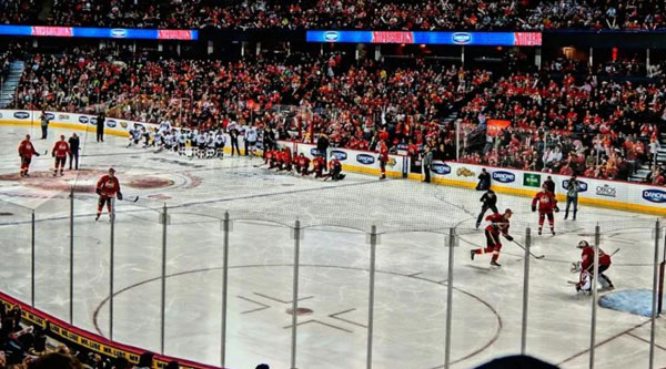Two Tickets to Flames vs Oilers Banquet Donation
