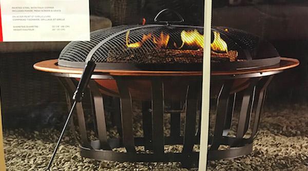 Outdoor Fire Bowl Banquet Donation