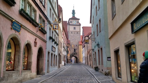 Rothenburg ob der Tauber.
