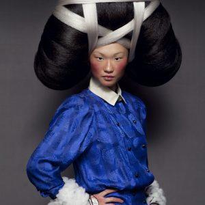 LA MIAO photo © Isabelle Chapuis  hairstylist : Nicolas Jurnjack