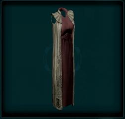 Cloaked Dress