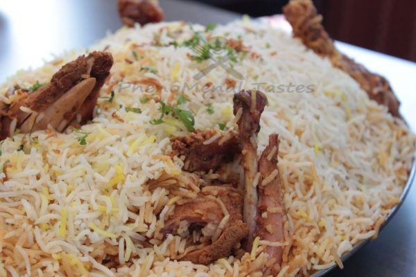 Chicken supreme biryani