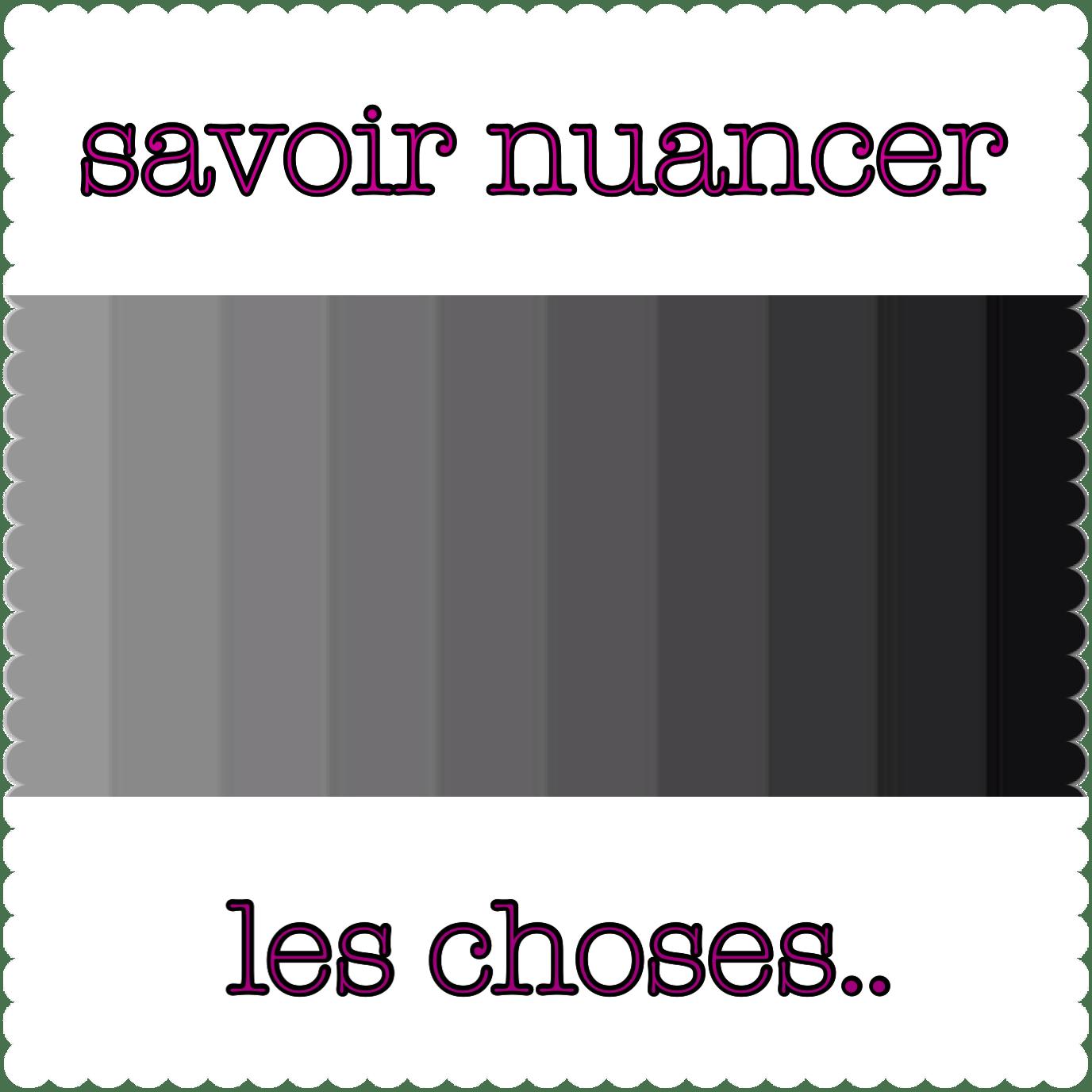 entre gris clair et gris fonce ou bien