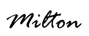 milton-signature