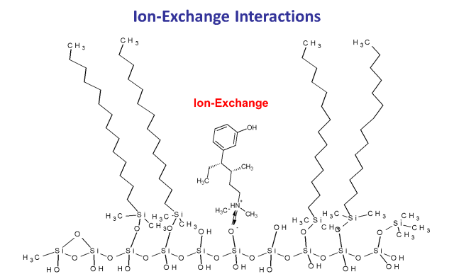 ion exchange in HPLC