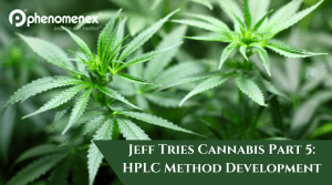 Jeff Tries Cannabis Part 5: HPLC Method Development