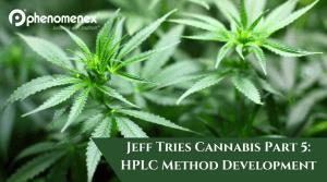 Jeff Tries Cannabis Part 5: HPLC Method Development