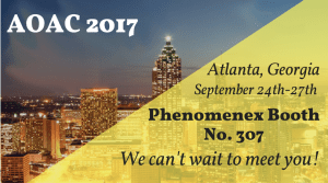 Are You Attending AOAC This Year?
