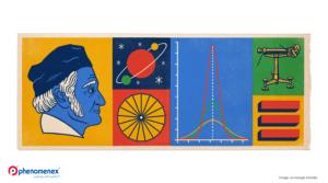Google Doodle Honors Johann Carl Friedrich Gauss—Learn Why!