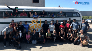 Phenomenex Volunteers Take a Ride on the Do Good Bus