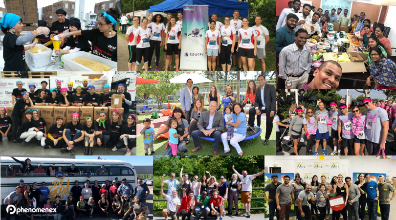 2018 Phenomenex Philanthropy Events