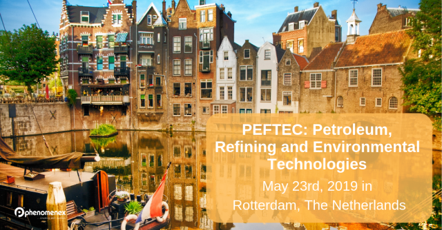 Join us at PEFTEC in the Netherlands to discuss Refining and Environmental Technologies.