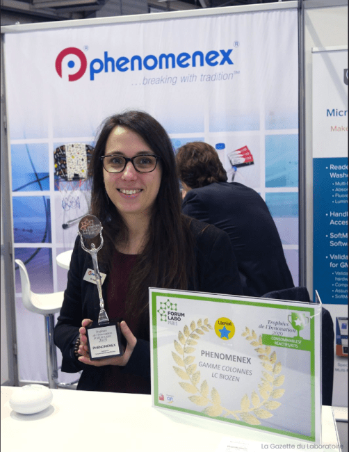 FORUM LABO of France Lab Consumables Innovation Award for our bioZen series, is one of our proudest awards in the chromatography games season