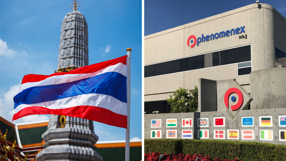 Phenomenex Has Gone Direct in Thailand