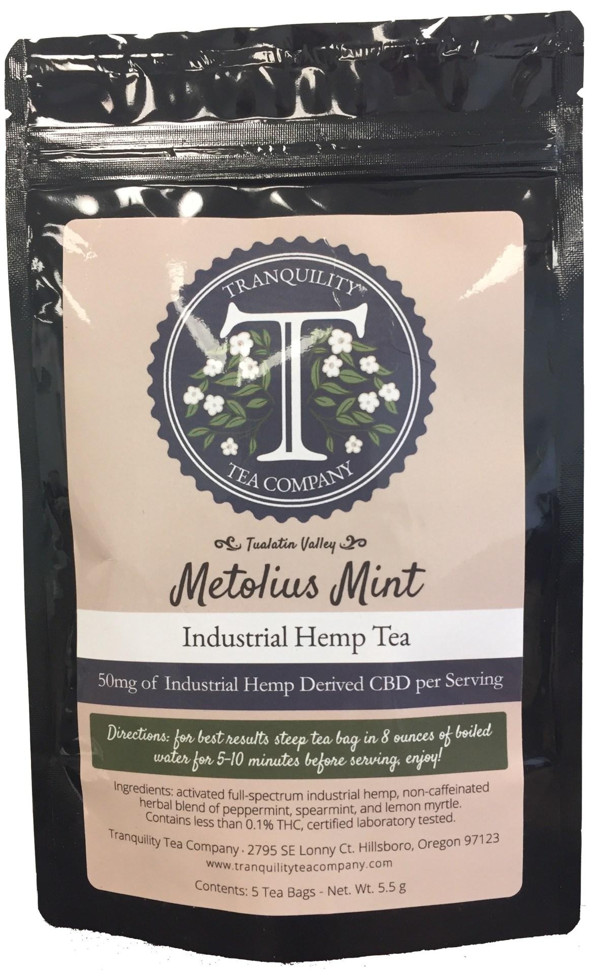 Tranquility Tea Company - Metolius Mint - 50mg