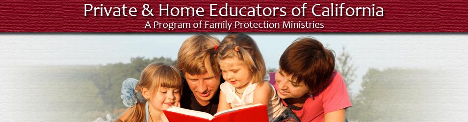 Private & Home Educators of California