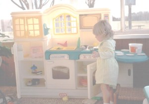 Emily-playingkitchen
