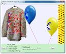 Screenshot of the simulation Globos y Electricidad Estática