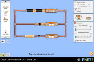 Circuit Construction Kit: DC - Virtual Lab
