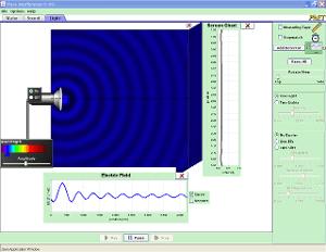 Интерференција таласа скриншот