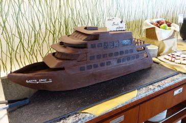 Von der Jungfernfahrt war noch ein Schoggischiff übrig....